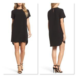 Felicity & Coco Emerson Shift Dress sz XS in Black